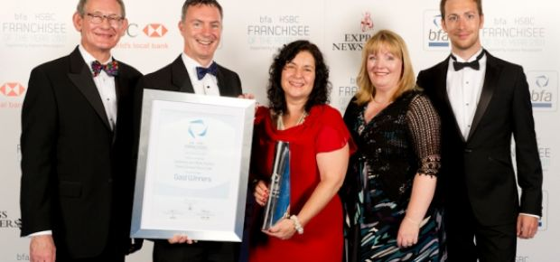 2011 Franchisee of the Year winners Mike and Catharine Chalton of Home Instead Senior Care