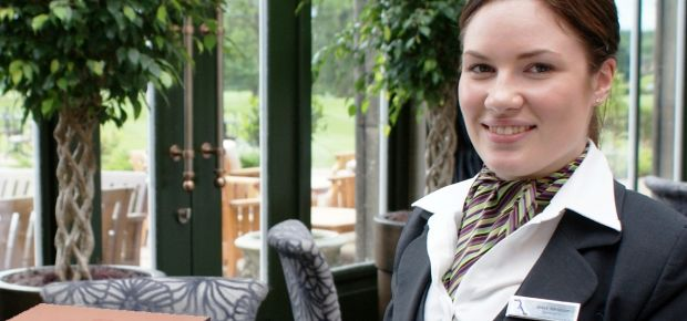 Grace Matterson, Rockliffe Hall&amp;#8217;s Sommelier