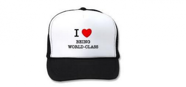 be world class cap