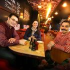 Aldo, Cristina and Joseph De Giorgi, Pasqualinos Bar Pizzeria Newcastle