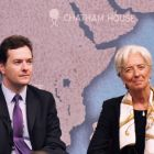 George Osborne and Christine Lagarde